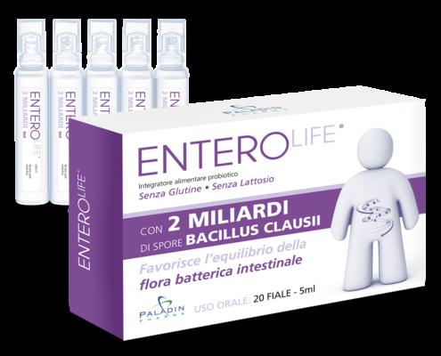enterolife 2 miliardi probiotico con bacillus clausii