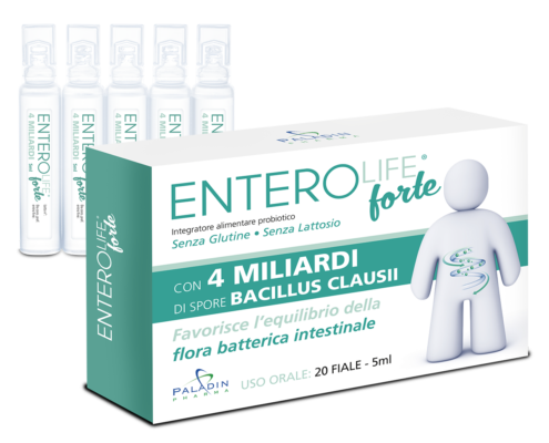 enterolife forte probiotico 20 fialoidi